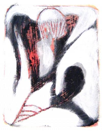Erscheinung<br /> Jahr: 2010<br /> Material: Acryl/Wachs<br /> Größe: 35 x 27 cm
