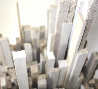 Stadtansicht<br /> 2014<br /> Marmor<br /> Höhe : 40 cm