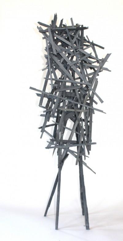 Netzwerk 3032<br /> Jahr: 2014<br /> Material: Schiefer<br /> Größe: 150 cm