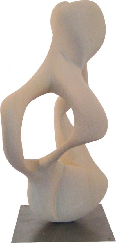 ein Kuss<br /> 2011<br /> Baumberger Sandstein<br /> Höhe: 47 cm